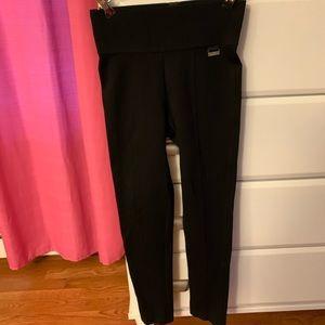 Calvin Klein XS thick elastic waistband pants